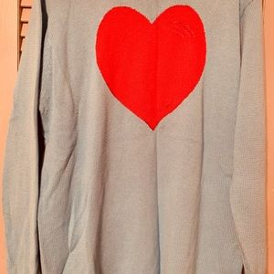 The Quicker Factory Valentine Heart Sweater